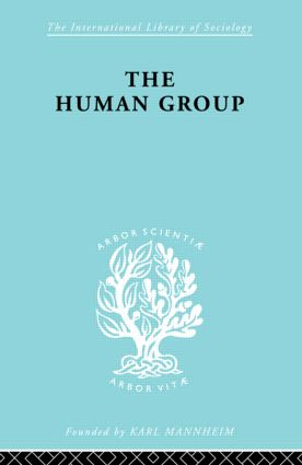 The Human Group: 1st Edition (Hardback) book cover