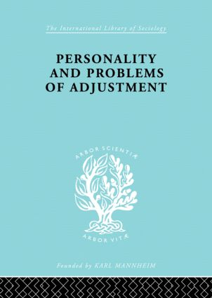 Personality and Problems of Adjustment book cover