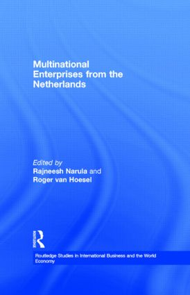 Multinational Enterprises from the Netherlands (Hardback) book cover