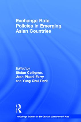 Exchange Rate Policies in Emerging Asian Countries (Hardback) book cover