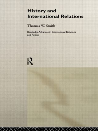 History and International Relations (Hardback) book cover