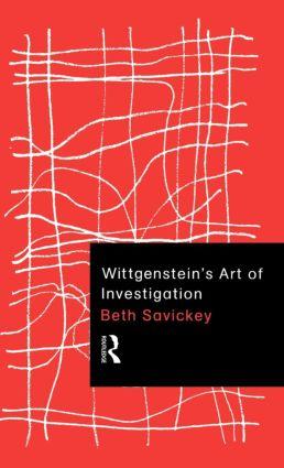 Wittgenstein's Art of Investigation (Hardback) book cover