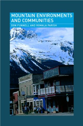 Mountain Environments and Communities: 1st Edition (Paperback) book cover