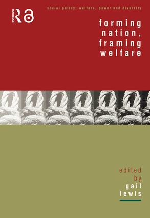 Forming Nation, Framing Welfare (Paperback) book cover