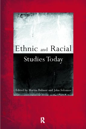 Ethnic and Racial Studies Today (Paperback) book cover