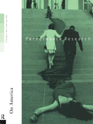 Performance Research: On America book cover