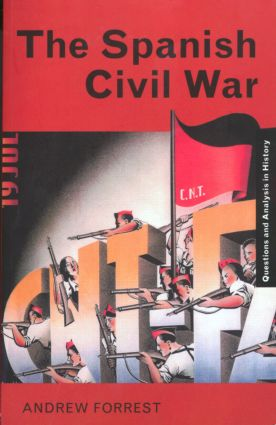 The Spanish Civil War book cover