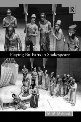 Playing Bit Parts in Shakespeare (Paperback) book cover