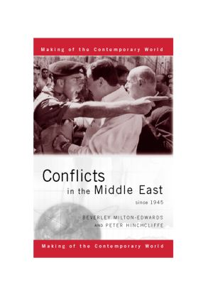 Conflicts in the Middle East since 1945 book cover