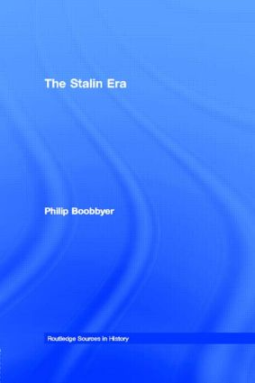 The Stalin Era: 1st Edition (Paperback) book cover