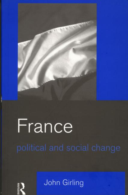 France: Political and Social Change (Paperback) book cover