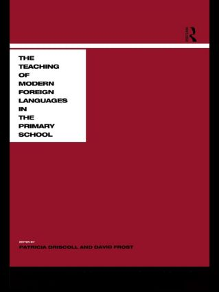 Teaching Modern Languages in the Primary School (Paperback) book cover