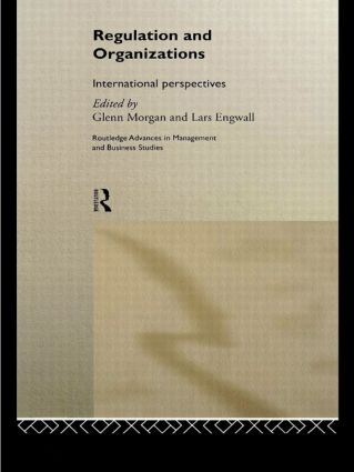 Regulation and Organisations: International Perspectives, 1st Edition (e-Book) book cover