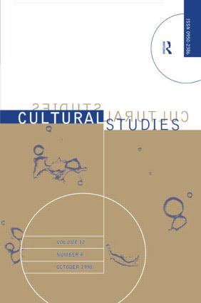 Cultural Studies - Vol. 12.4: The Institutionalization of Cultural Studies, 1st Edition (Paperback) book cover