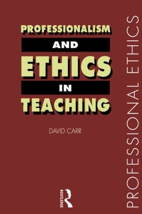 Professionalism and Ethics in Teaching book cover