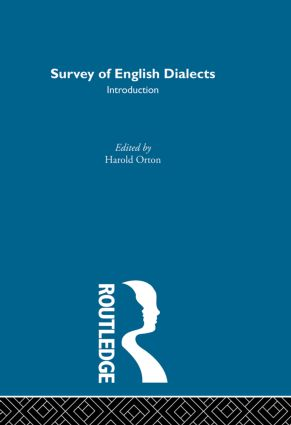 Survey Eng Dialects-Introdctn (Hardback) book cover
