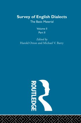 Survey Eng Dialects Vol2 Prt2: 1st Edition (Hardback) book cover