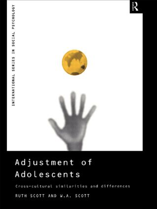 Adjustment of Adolescents: Cross-Cultural Similarities and Differences book cover