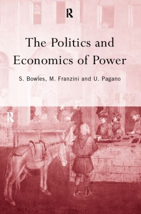 The Politics and Economics of Power (Hardback) book cover