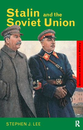 Stalin and the Soviet Union (Paperback) book cover