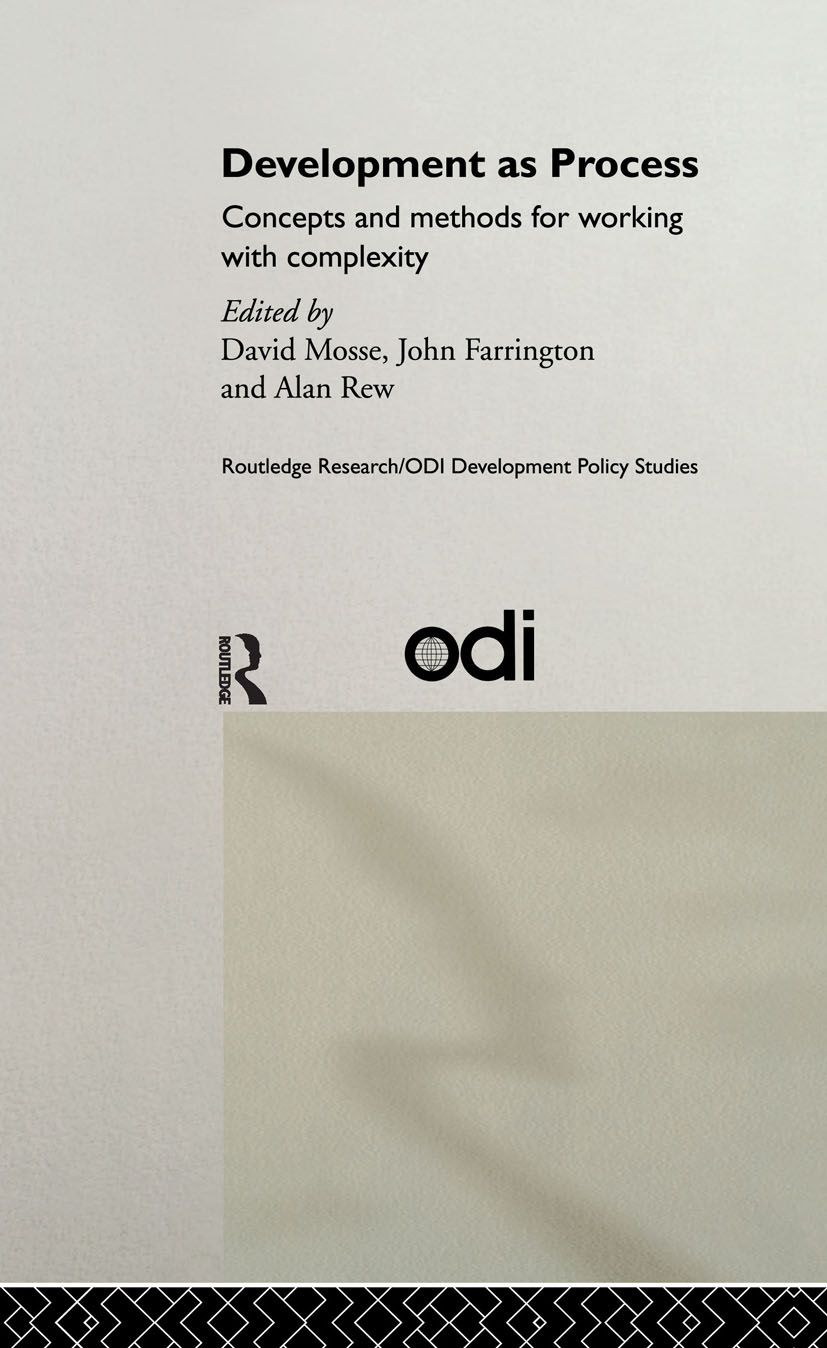 Development as Process: Concepts and Methods for Working with Complexity, 1st Edition (Hardback) book cover
