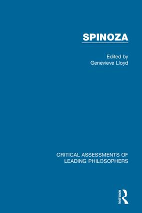 Spinoza book cover