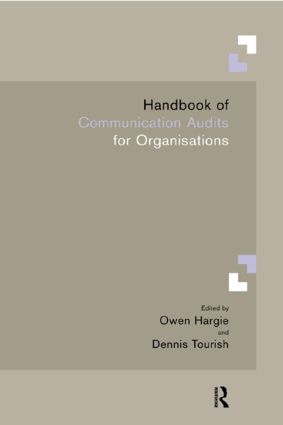 Handbook of Communication Audits for Organisations (Paperback) book cover