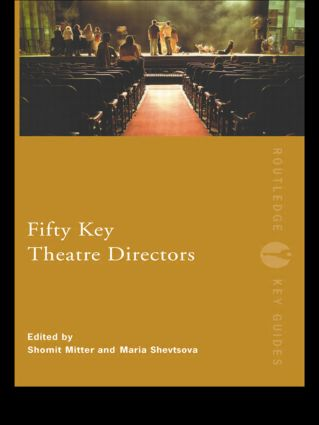 Fifty Key Theatre Directors (Paperback) book cover