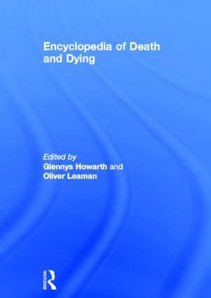Encyclopedia of Death and Dying (Hardback) book cover
