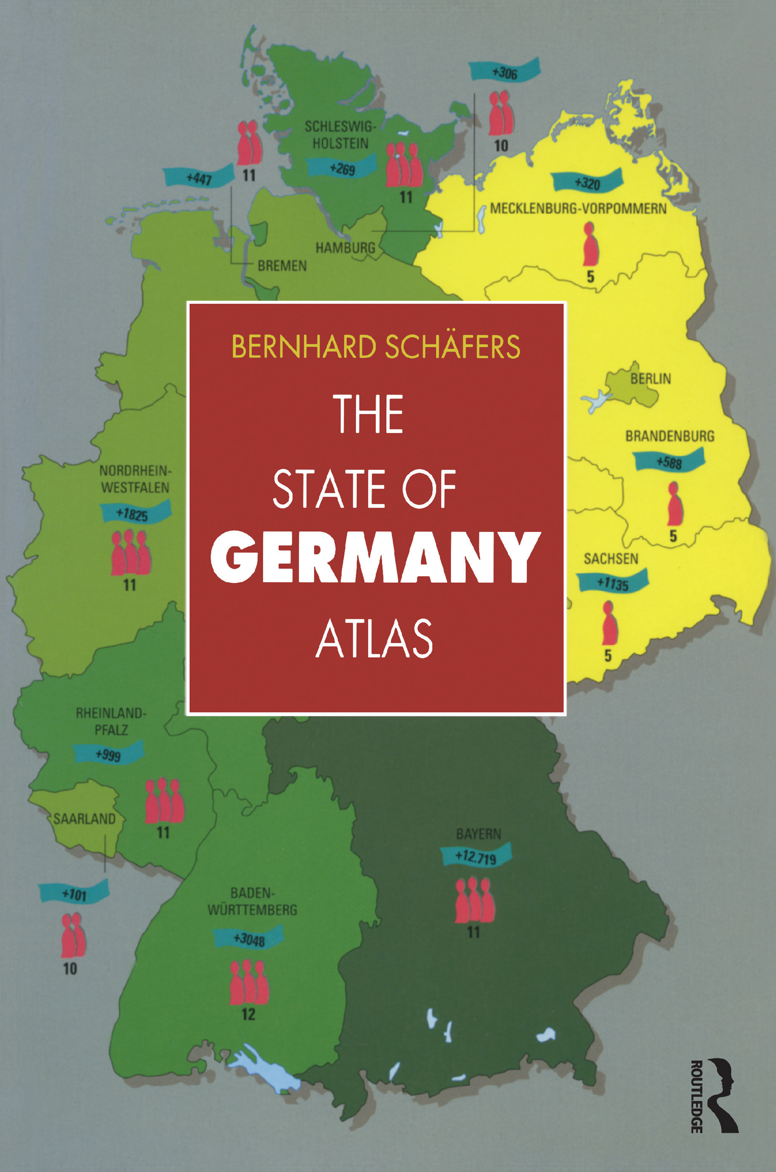 The State of Germany Atlas: 1st Edition (Paperback) book cover