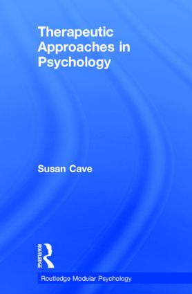 Therapeutic Approaches in Psychology book cover