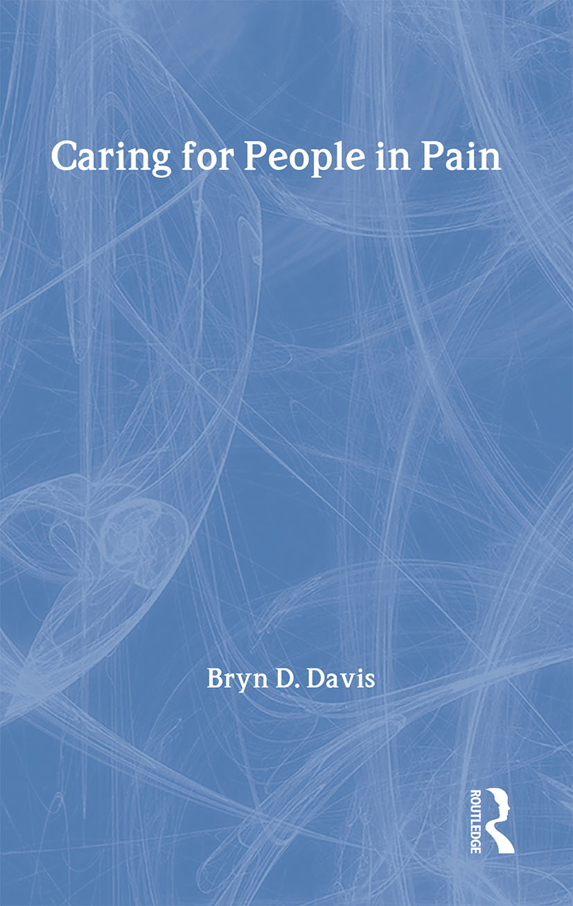 Caring for People in Pain (Paperback) book cover