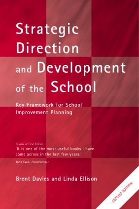 Strategic Direction and Development of the School book cover