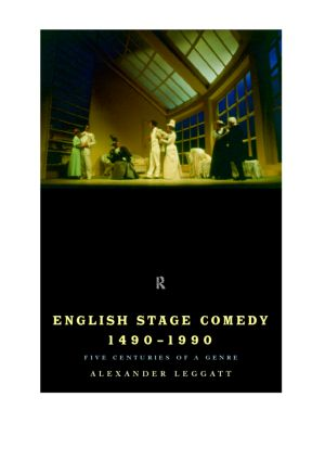 English Stage Comedy 1490-1990 (Paperback) book cover