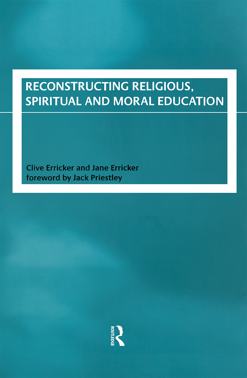 Reconstructing Religious, Spiritual and Moral Education (Paperback) book cover