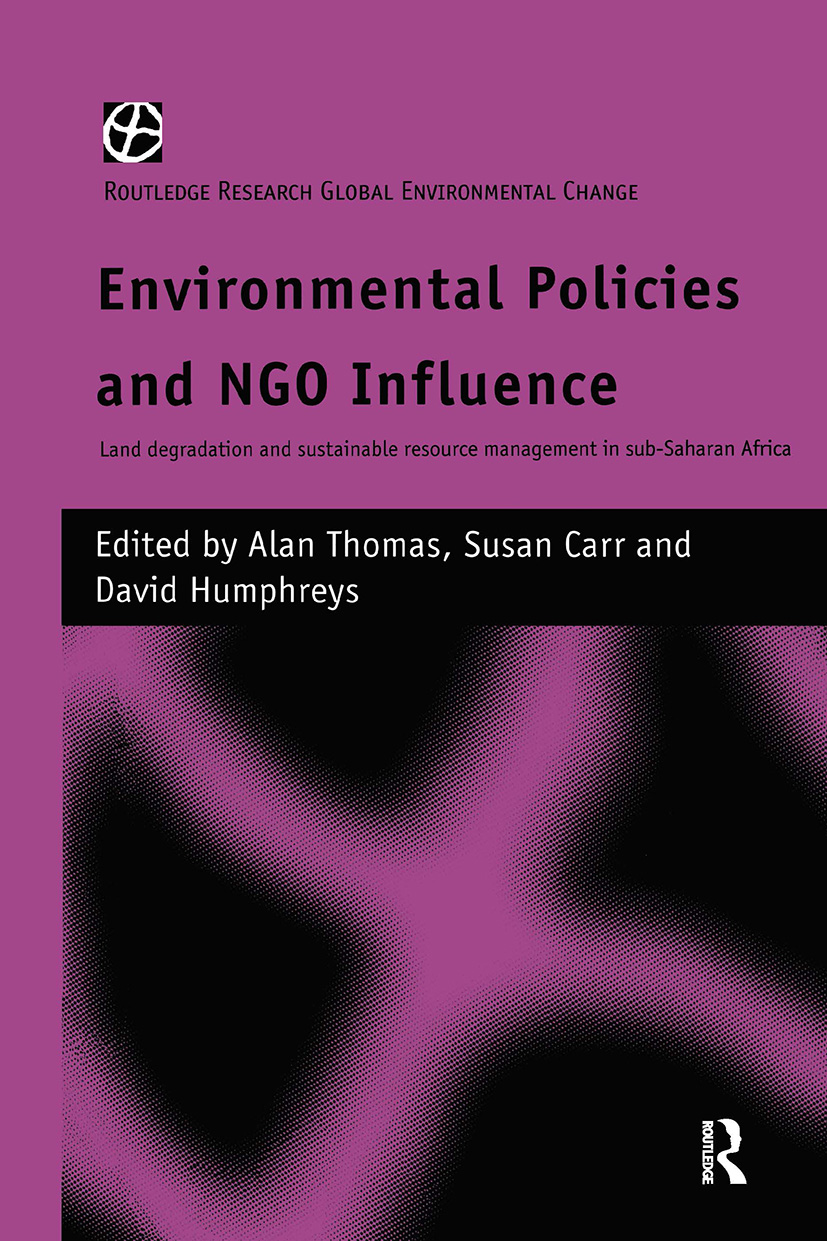 Influence thrust upon them? NGOs' role in public action on the environment in Africa