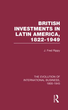 Brit Invest Latin America V1: 1st Edition (Hardback) book cover