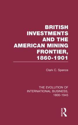 Brit Invest&American Mining V2: 1st Edition (Hardback) book cover