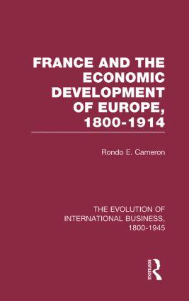 France & Econ Dev Europe V4 book cover