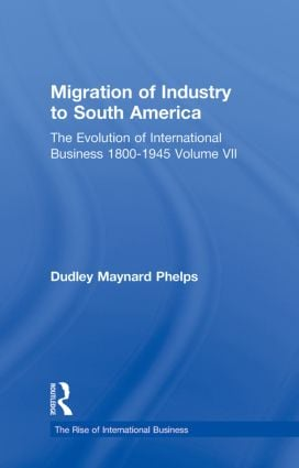 Migration Indust Sth Americ V7 book cover