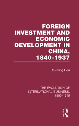 Foreign Invest Econ China V8 book cover