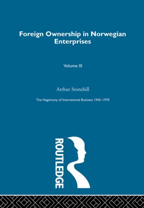Foreign Ownership Norwegn Ent book cover