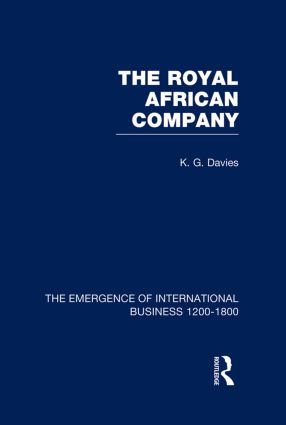 Royal African Company V5 book cover