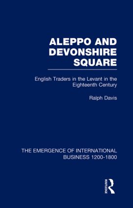 Aleppo & Devonshire Square V6 book cover