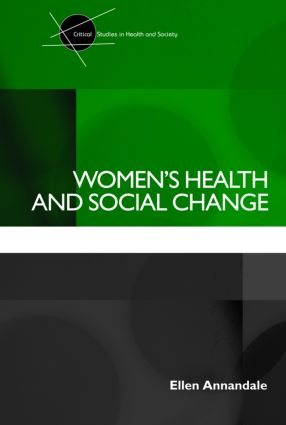 Women's Health and Social Change (Paperback) book cover