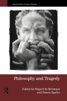 Philosophy and Tragedy (Paperback) book cover
