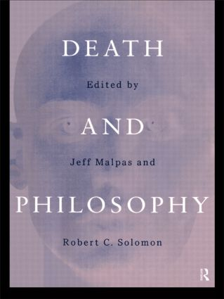 Death and Philosophy: 1st Edition (Hardback) book cover