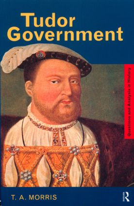 Tudor Government book cover