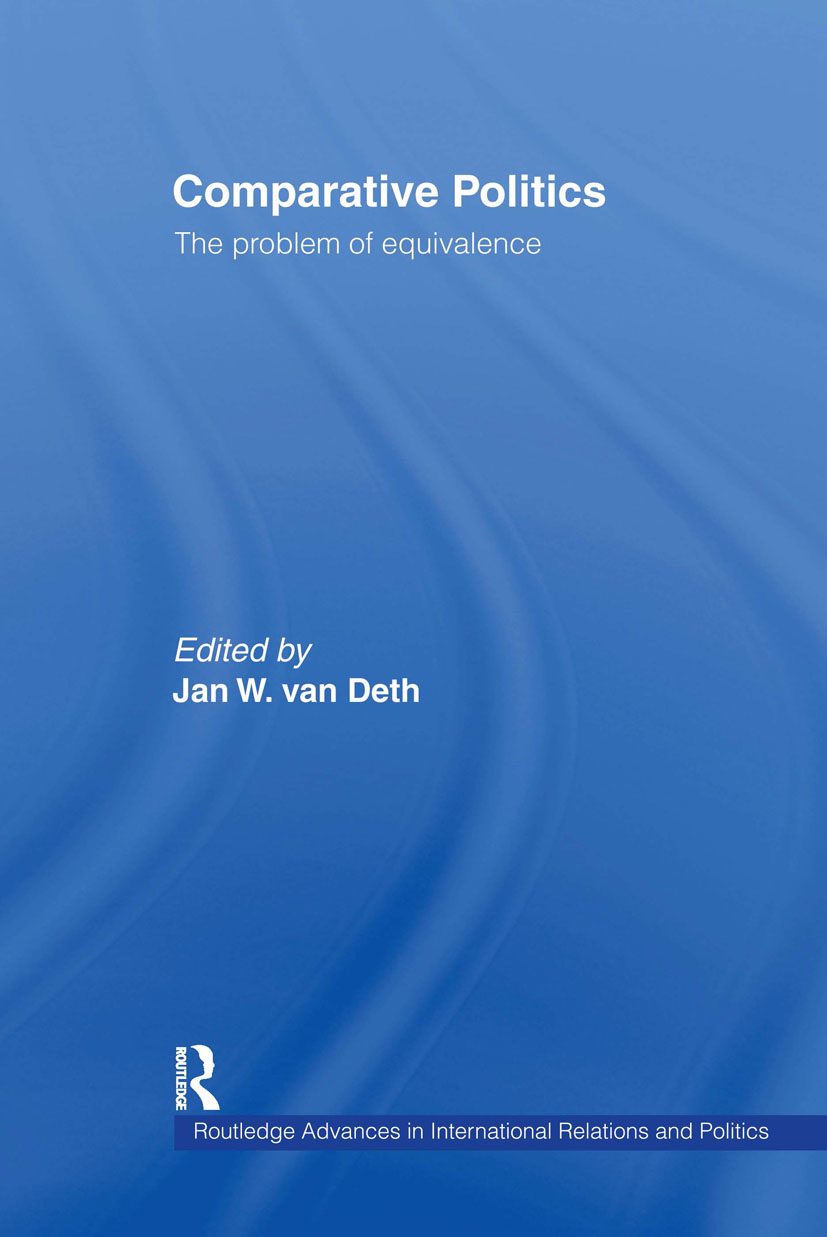 Comparative Politics: The Problem of Equivalence book cover