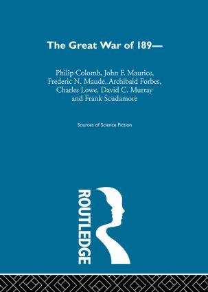 Great War Of 1890 Ssf V1: 1st Edition (Hardback) book cover